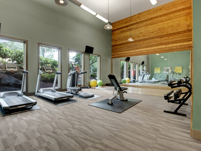 Image of Fully Equipped Fitness Center for Taluswood Apartments