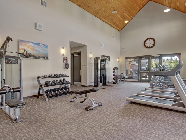 Image of Fitness Center for Seasons Apartments at Farmington Reserve