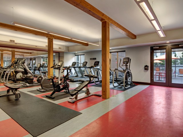 Image of Fitness Center for Tessera Apartments