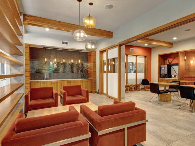 Image of Resident Lounge for Tessera Apartments