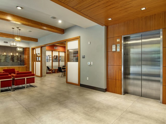 Image of Elevators for Tessera Apartments