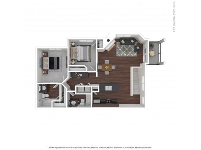 Villas at Kennedy Creek 2 bedroom apartment