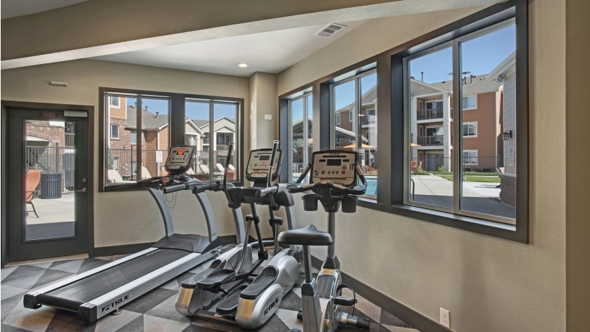 State-of-the-Art Fitness Center | Apartments In Castle Rock Co | The Bluffs at Castle Rock