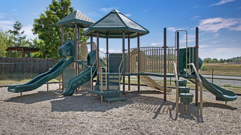 Community Children\'s Playground | Apartments In Castle Rock Co | The Bluffs at Castle Rock