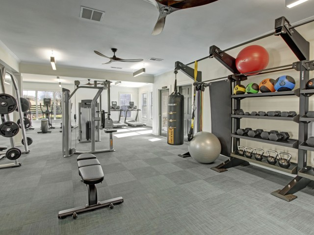 Image of Fitness Center for Stoneridge Farms at the Hunt Club Apartments