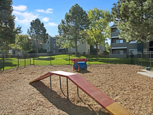 Image of Bark Park and Dog Run Area for The Grove at City Center Apartments