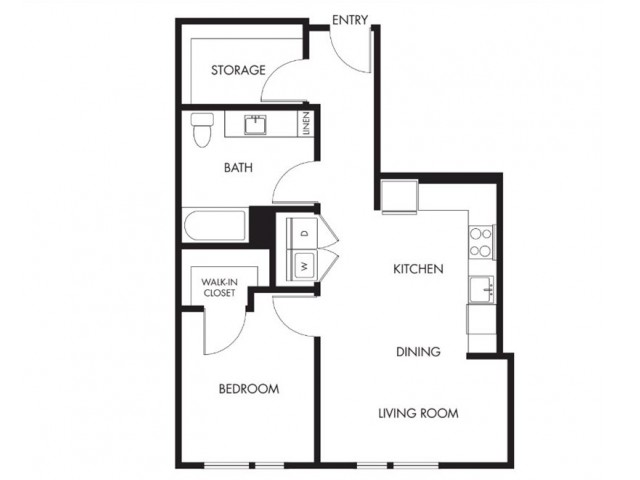 Floor Plan 3 | Anthology Apartments | Apartments For Rent Issaquah Wa