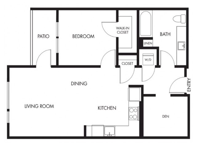 Floor Plan 5 | Anthology Apartments | Apartments Issaquah