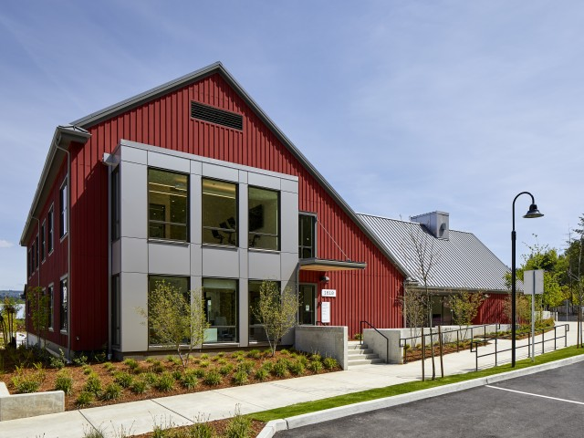 Image of Red Barn Clubhouse for Anthology Apartments