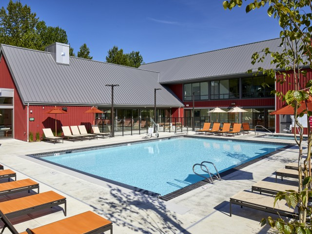 Image of Outdoor Pool and Spa for Anthology Apartments