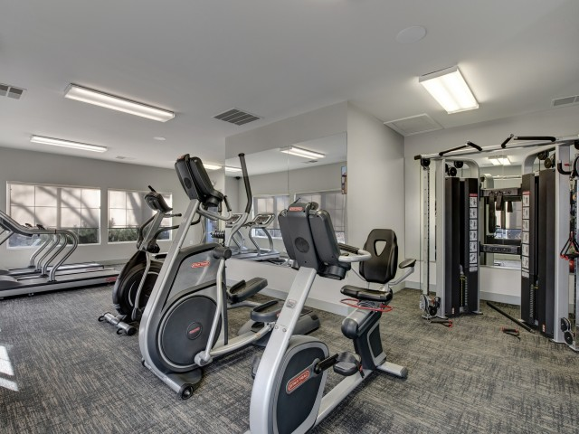 Image of Fitness Center for The Willows at Printers Park Apartments