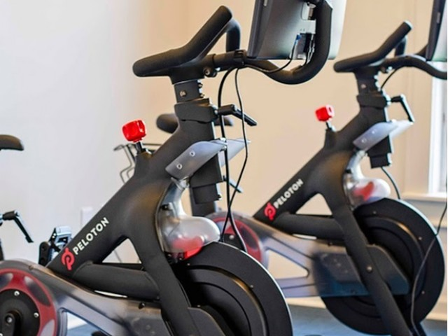Image of Peloton Cycling Room for Stoneridge Farms at the Hunt Club Apartments