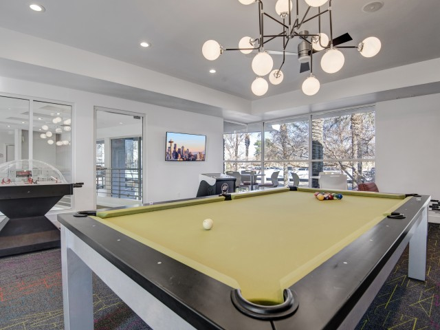 Image of Billards Table for Pavilions on Central Apartments