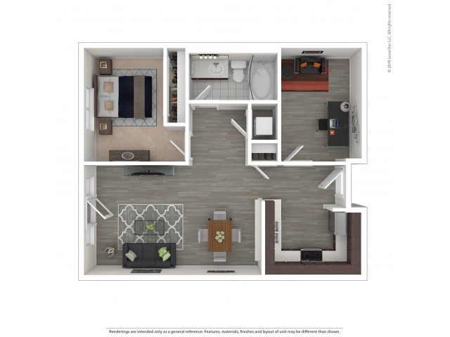 One Bedroom with Den 6.1 - Income Limited