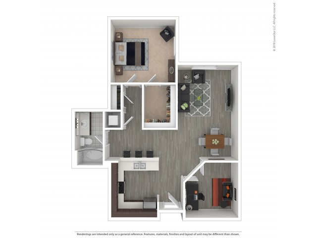 One Bedroom with Den 3.1 - Income Limited