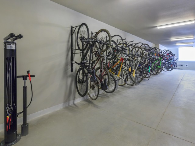 State-Of-The-Art Bicycle Storage Facility