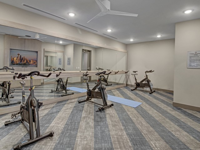 Spin and Yoga Room