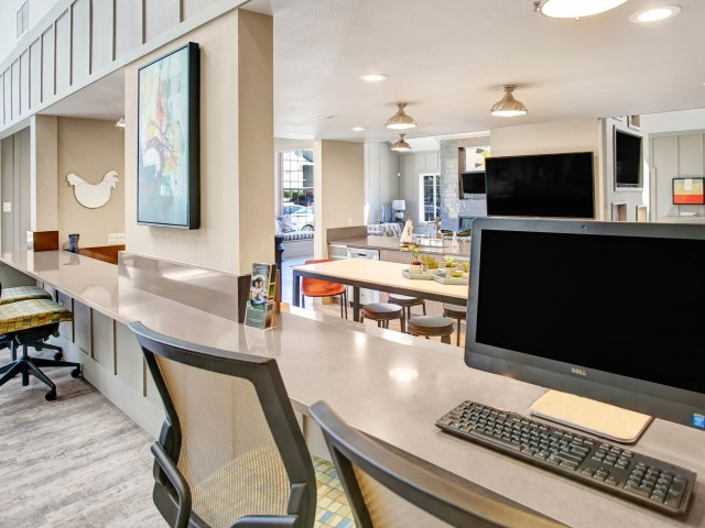 Business Center with Wi-Fi access