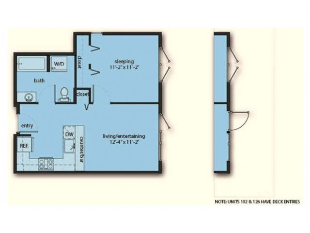 One Bedroom One Bath A5