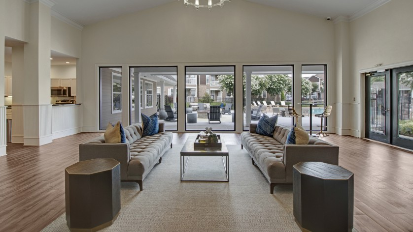 Elegant Resident Club House | Apartments Near Nashville Tennessee | Hamptons at Woodland Pointe