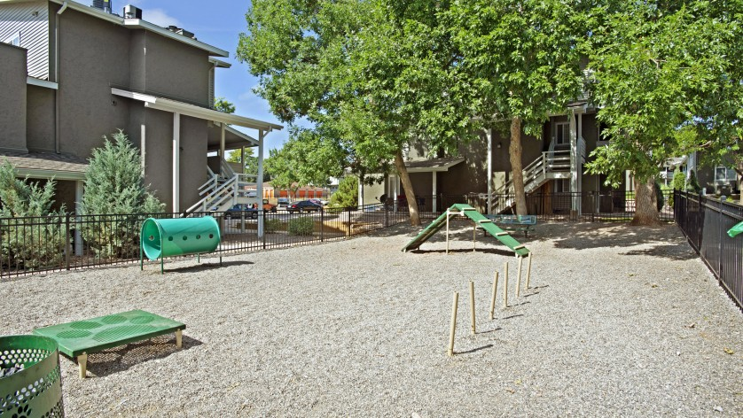Bark Park and Dog Run Area   Federal Heights Co Apartments   The Lodge on 84th