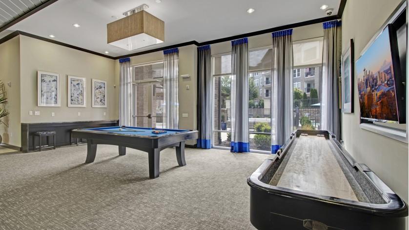Spacious Community Club House   2 Bedroom Apartments In Franklin Tn   Artessa