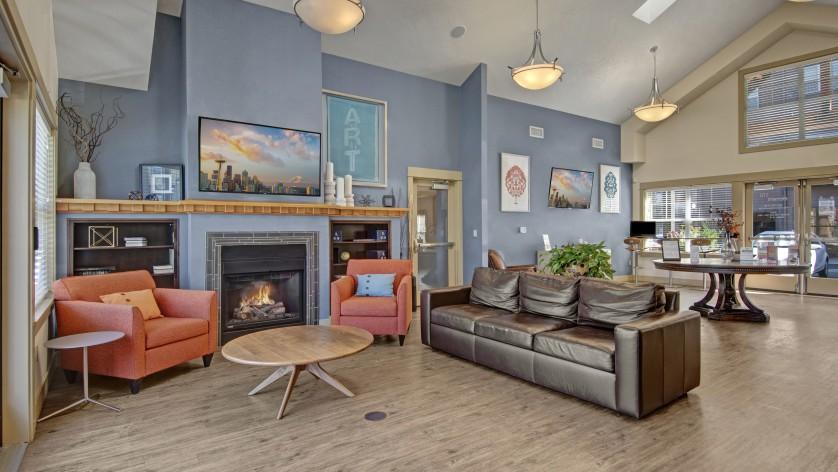 Spacious Resident Club House | Luxury Apartments In Beaverton Oregon | Element 170