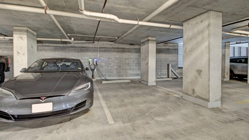 Electric Car Charging Area | Crossroads at the Gulch | Apartments In Nashville TN