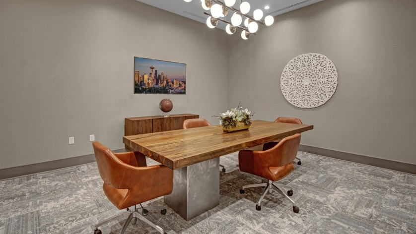 Conference Room | Crossroads at the Gulch | Apartments In Nashville TN