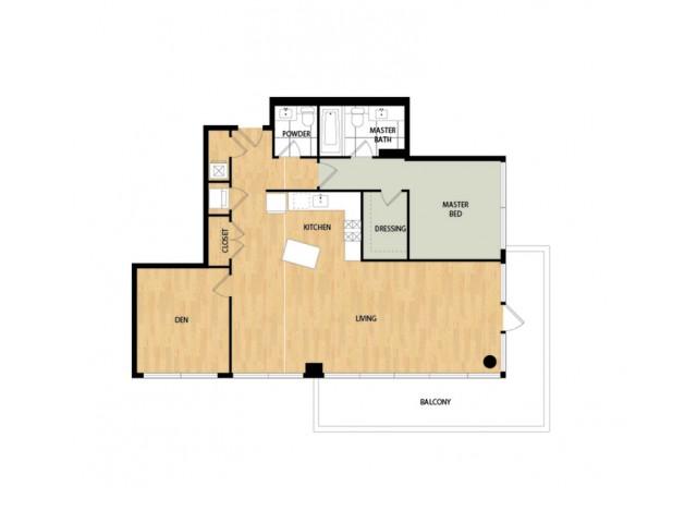 Sidecar One Bedroom One Bath - Hawthorne