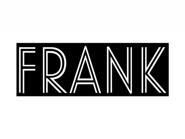 Frank Coffee, Wine and Bottle Shop Logo