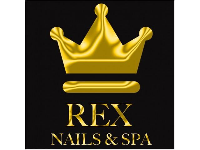 Rex Nails & Spa Logo