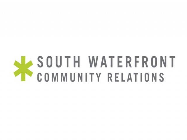 South Waterfront Community Relations Logo