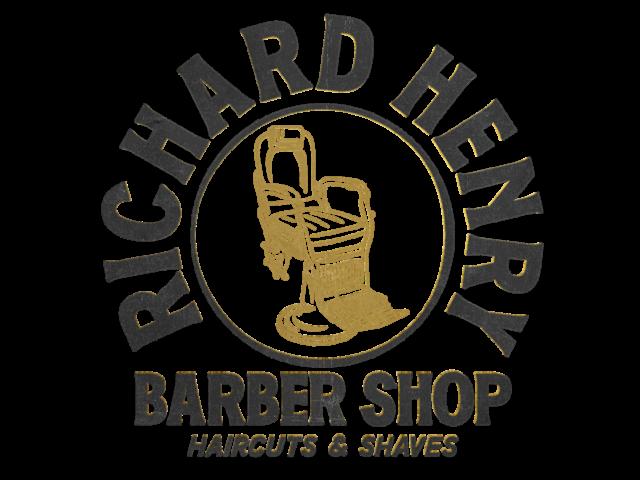 Richard Henry Barber Shop Logo