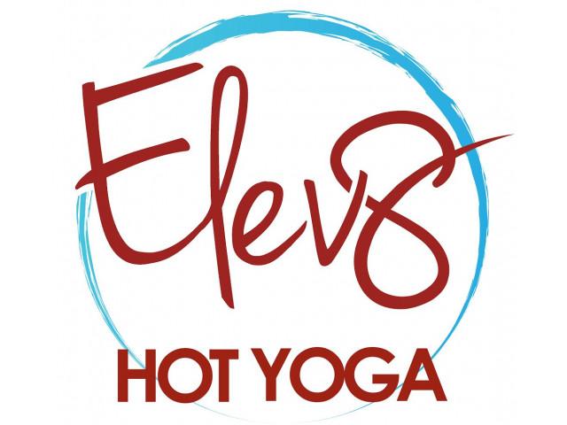 Elev8 Hot Yoga Logo