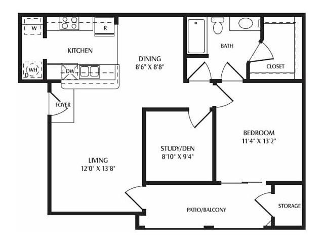 1 Bed / 1 Bath Apartment In Mesa AZ