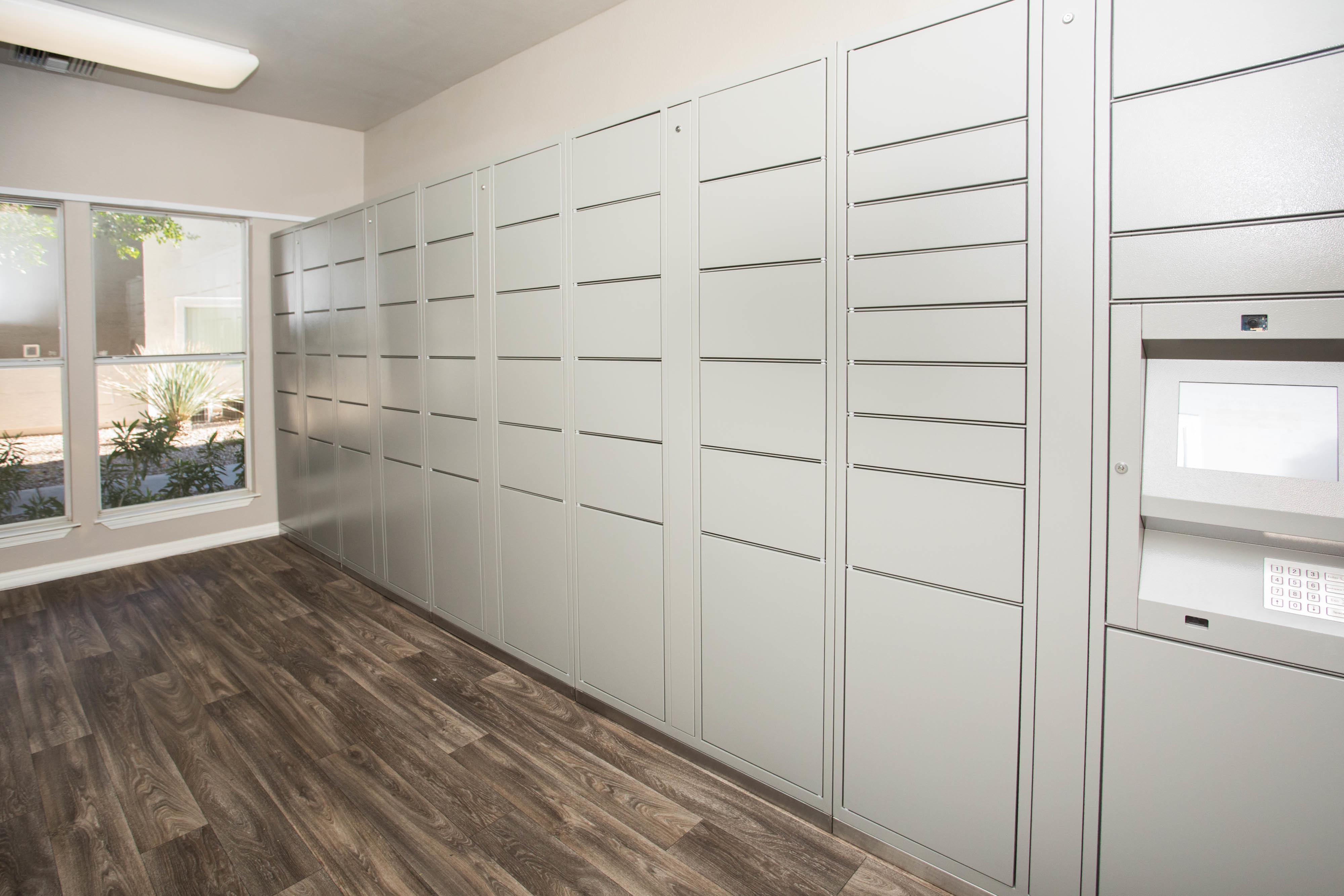 Resident Locker System| Phoenix AZ Apartments For Rent | Arboretum at South Mountain