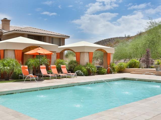Resort Style Pool | Apartments in Phoenix, AZ | Mountainside Apartments
