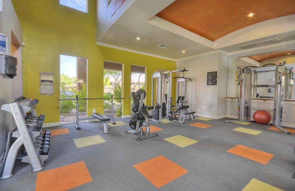 Cutting Edge Fitness Center | Apartments Homes for rent in Phoenix, AZ | Mountainside Apartments