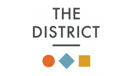 The District Flats Logo | Lenexa Apartments | The District Flats