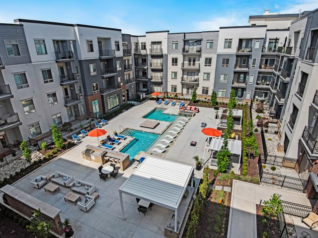 Resort Style Pool | Apartments in Overland Park, KS | Avenue 80