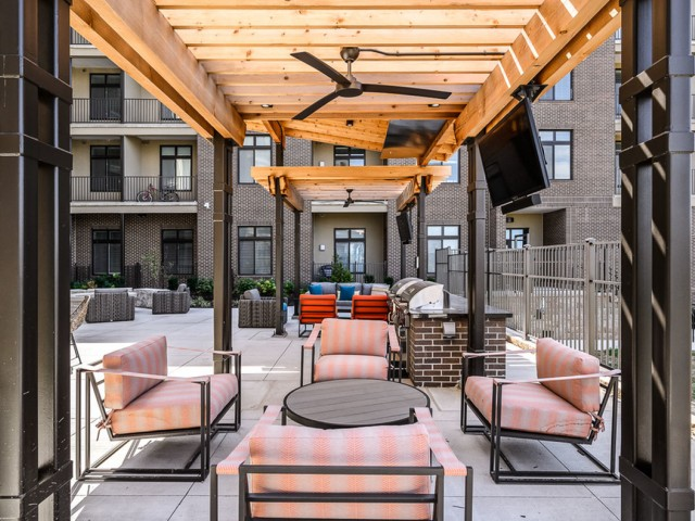 Grilling  | Apartments in Lenexa KS | The District Flats