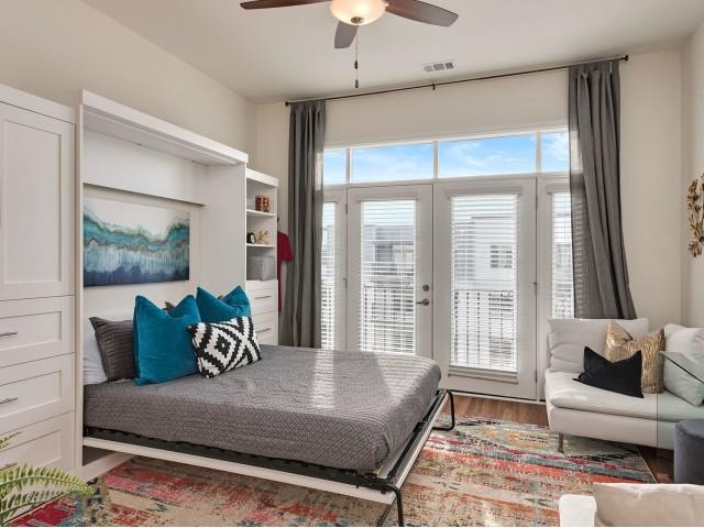 Elegant Bedroom | Overland Park KS Apartment For Rent | Avenue 80