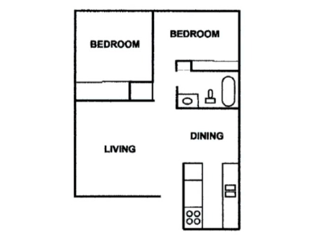 One Bed One Bath Sixty Six 850 Square feet