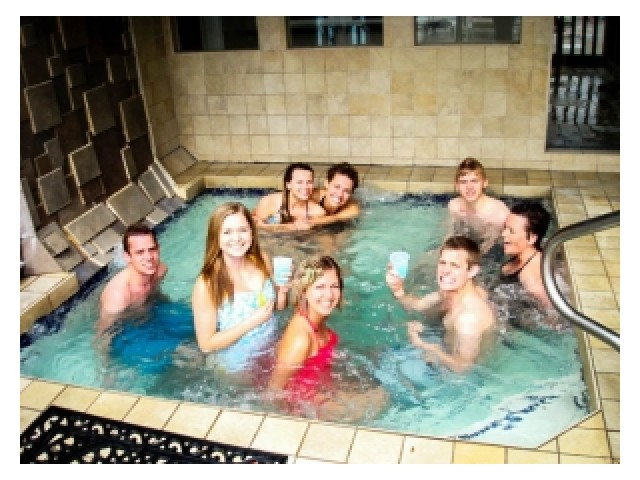 Image of Year Round Hot Tub for King Henry Apartments