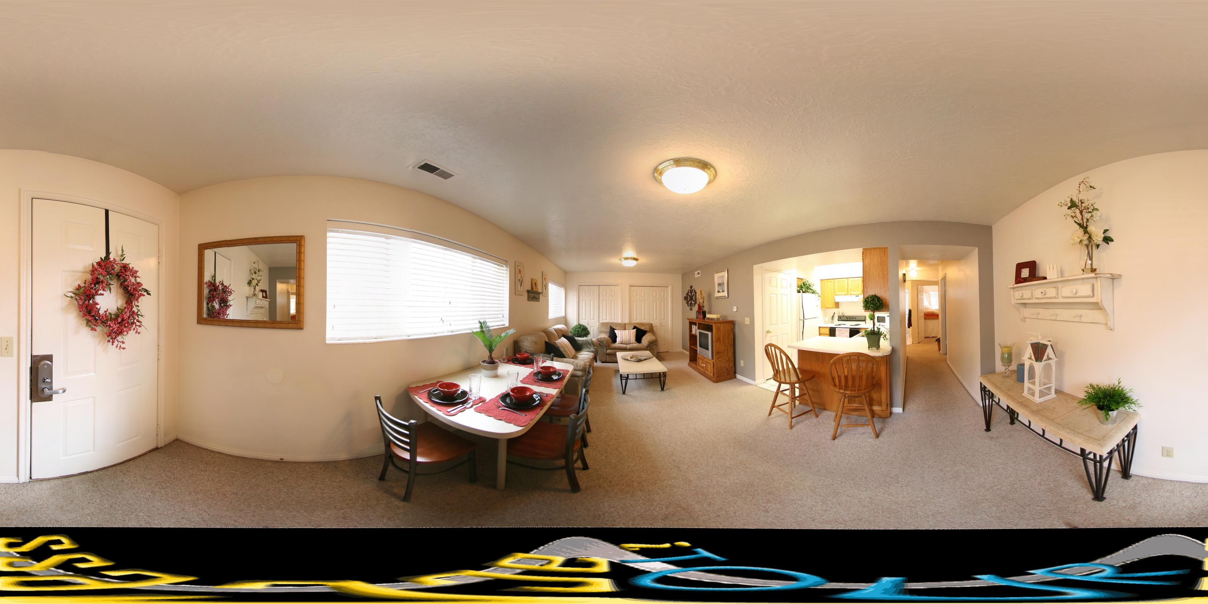2 Bedroom Large - Living Room