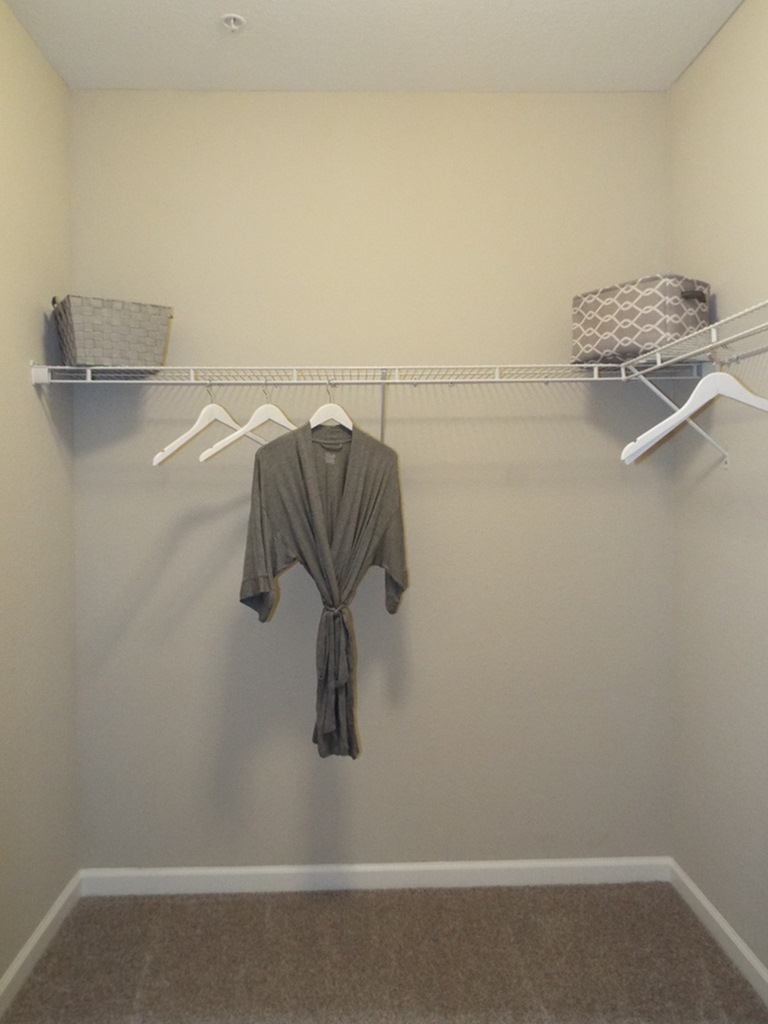 Spacious Walk-in Closet | Apartments In Fort Myers Fl | Mosaic at the Forum