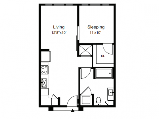 Floor Plan 1 | Luxury Apartments In Sarasota Fl | ARCOS