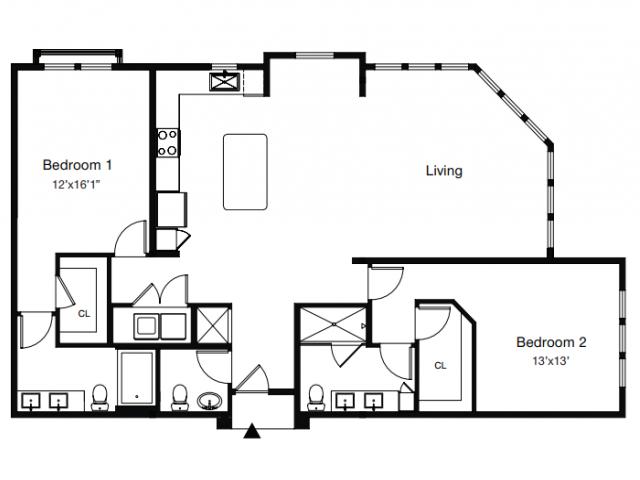 Floor Plan 5 | Apartments In Sarasota Fl | ARCOS