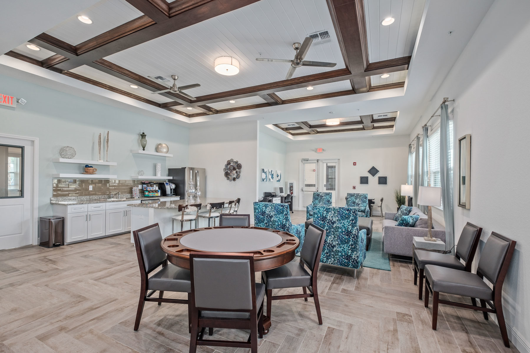 Elegant Community Club House | Fort Myers Apartments | Mosaic at the Forum